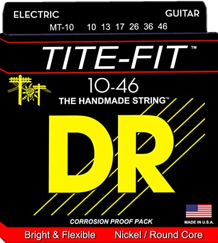 DR Strings Tite Fit Electric Guitar Strings for Metal