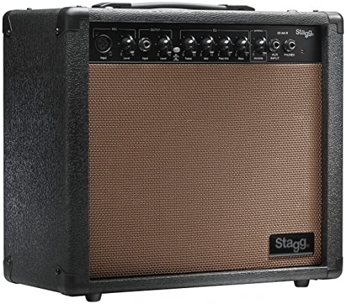 Stagg 20 Watts Acoustic Guitar Amp with Spring Type Reverb