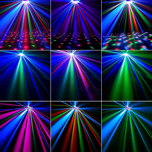 OPPSK 9 Colors Sound Activated DJ Light