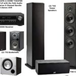 Polk Audio Home Theater System with Subwoofers