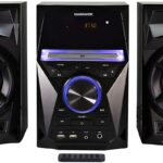Magnavox MM441 CD Shelf System Stereo with Bluetooth